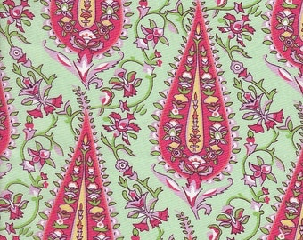 SALE - Rowan Amy Butler Love Cypress Paisley in Blush- End of Bolt - Last 23 Inches