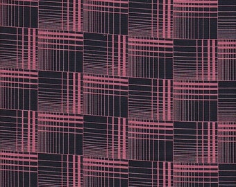 Free Spirit Fabrics Denyse Schmidt Greenfield Hill Griswold Plaid in Cranberry - Half Yard