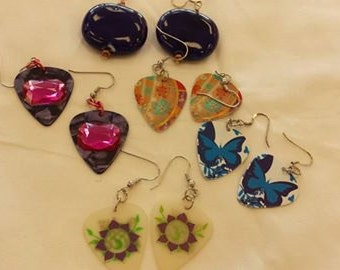 5 Pair Lot of earrings