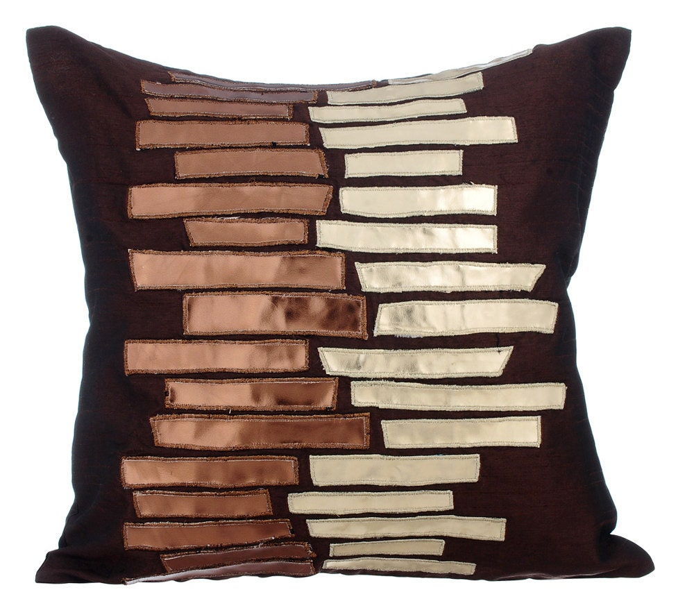 Brown Decorative Throw Pillows : Brown Decorative Throw Pillow Covers Accent Pillow Couch Sofa