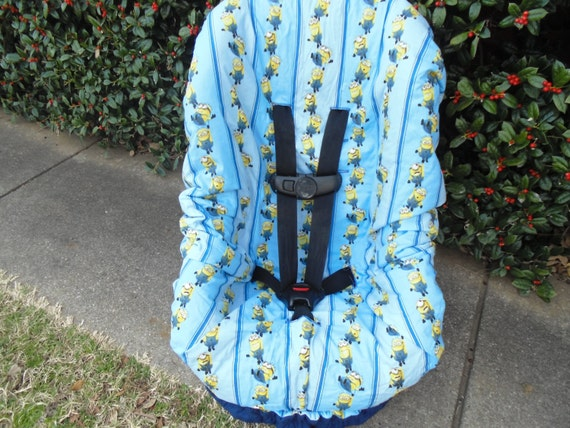 Minions toddler car seat cover car seat not included