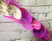Fear  inside out inspired sock yarn