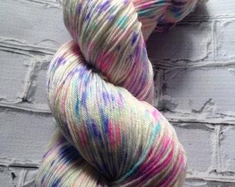 Confetti cake variegated sock yarn