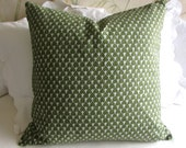 DIEGO pillow cover 18x18 20x20 22x22 24x24 26x26 13x26 12x20 olive green