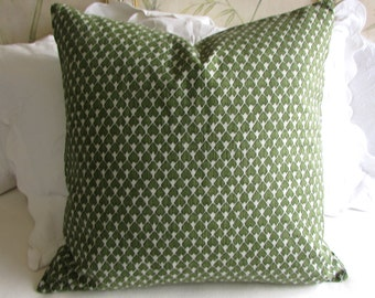 EURO PILLOW COVER 26x26 diego/olive green