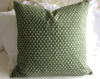 DIEGO pillow cover 18x18 20x20 22x22 24x24 26x26 13x26 12x20 olive green