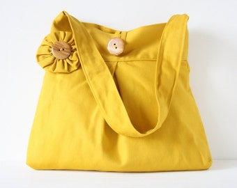 Shoulderbag ocher