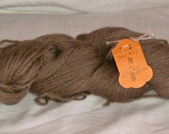 VINTAGE--Khaki Brown--#453 Paternayan Wool Yarn