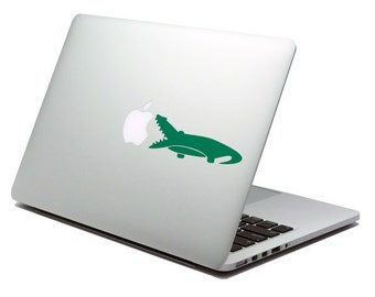 Crocodile Laptop Decal