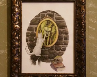 Cats Interrupting Fairytales: Mirror Mirror