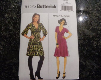 Butterick 5242 dress pattern