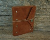 Rust & Rivets - Hand Bound Leather Journal 5 x 6