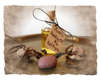 Rustic Natural Healing Mini Massage Oil 20 ml