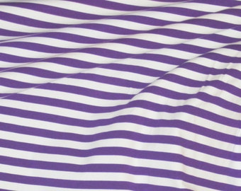 Violet stripes 1 yard knit