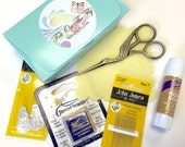 Embroidery Set, Tool Kit, Wool Appliqué, Sewing Notions, Embroidery Scissors, Thread Heaven, John James, Sewing Needles, Stitching Accessory