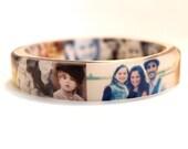 Custom Photo Resin Bangle Bracelet