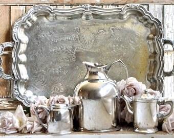 Lovely Vintage Hotel Silver......