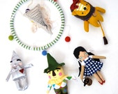 The Wizard of Oz Mobile // Bright and Colorful Baby Mobile of Children's Room Art and Decor