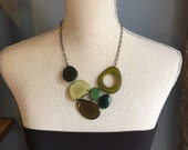 Shades of green necklace Other Colors Available