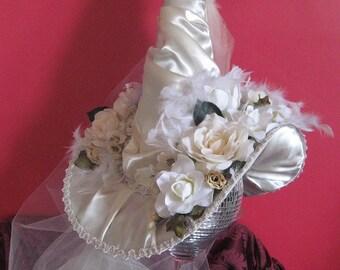 Elegant Halloween Witch Hat