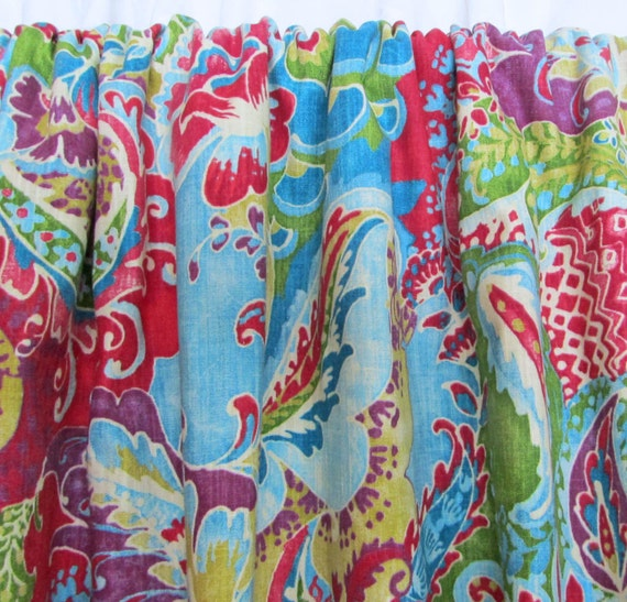 Bright Bohemian Curtains Boho Home Decor Multi Colored