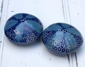 Porcelain Sea Urchin Salt & Pepper Shakers