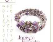 bracelet tutorial / pattern Jackson...PDF instruction for personal use only
