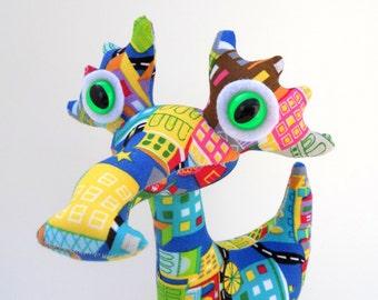 Alien Toy, Dragon Plush, Cute Monster Plush, Alien Plush, Stuffed Animal by Adopt an Alien named Buzz