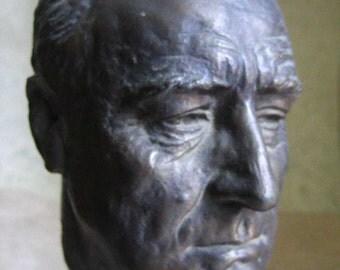 FDR Bronze Bust Signed Jo Davidson Franklin D Roosevelt 1934