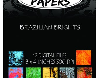 Brazilian Brights Collection Digital Patterns