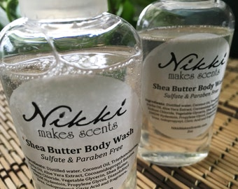 Shea Butter Body Wash Sample - CELESTIAL-inspired fragrances (your choice)