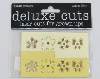 Deluxe Cuts Laser Cuts for Grown-Ups - Spring Toppers #AA225