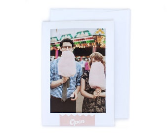Insta Photo Frame wedding invitation set