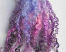 Teeswater Wool locks,curls, FANTASY , EXCELLENT QUALITY, extra long, Dolls hair, Felting, Crafts etc.
