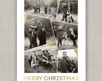 Christmas Photo Card - Geo