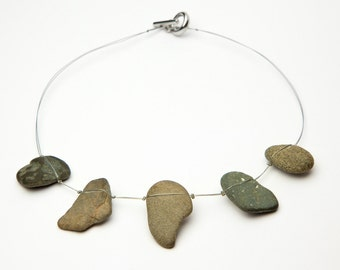 Necklace with stones from the Dead Sea, lowest point on earth