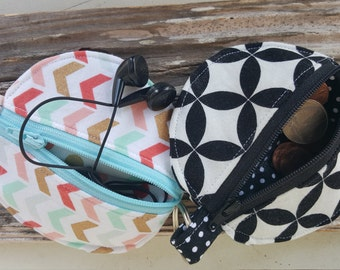 Handmade Earphone pouch/coin & card pouch