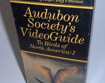 SALE Audobon Society Video Guide To Birds of North America 1 Bird Watching VHS movie