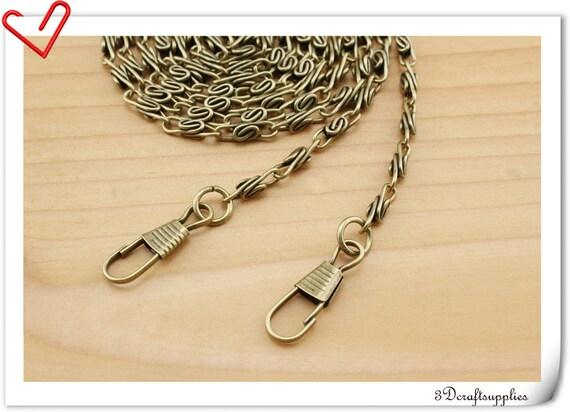 120cm Anti brass purse Chain bag chain  K76