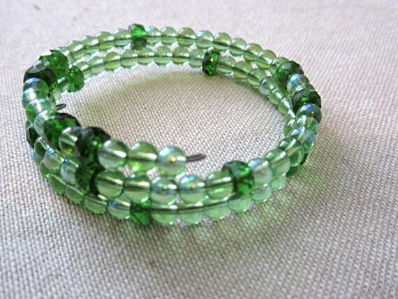Green math STEM sciart jewelry pi bangle