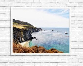 BUY 2 GET 1 FREE California Photo, Big Sur Photo, Ocean View Photo, West Coast Road Trip, Home Decor, Landscape Photo - Big Sur View