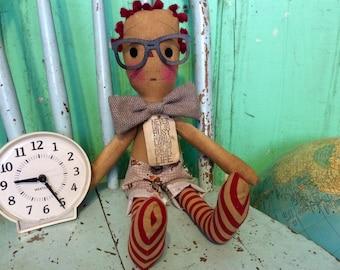 Raggedy Andy - Raggedy ann and andy - Raggedy Andy ragdoll - boy doll - boy - Raggedy Annie - ( HAFAIR ) primitive raggedy Ann Doll -