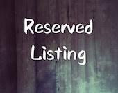 jiajiadoll - Reserved listing for Jo Jie