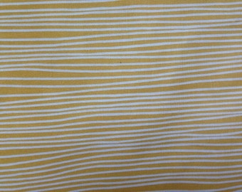 On Sale.  Yardage available. lotta Jansdotter Glimma Kirkuk Stripe in citron/yellow