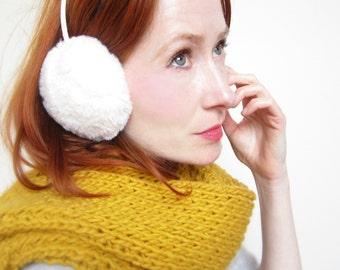 Ear Warmer ,Ear Muffs,Fur Ear Muffs,Vegan