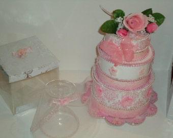 Wedding Cake Birthday Cake Centerpiece