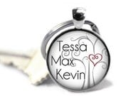 ON SALE - Personalized Mom Key Chain - Gifts for Nana, Birthday Gift, Mother's Day Gift, Mom Keyring, Gifts for Mom, New Mom Gift