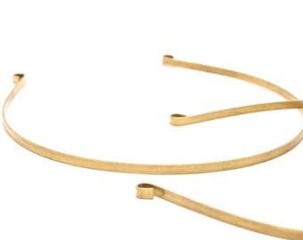 3 Raw Brass Collar Necklace Bs 1300