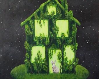 Green House - Fine Art Print of Original Painting