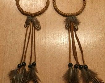 Native american hoop earrings